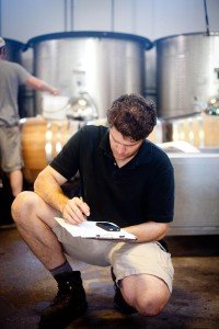 Jeff notes his favorite barrel selections, tasting and testing results in preparation to propose blends for the 2012 vintage.