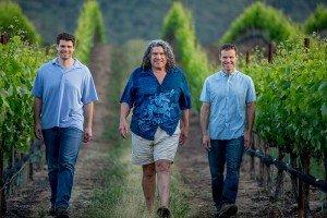 Pisoni-Jeff-Gary-Mark-vineyard-walk