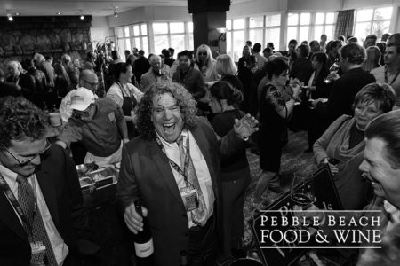 Gary Pisoni at the Pebble Beach Food & Wine event