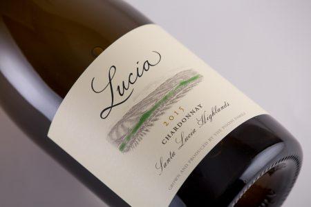2015 Lucia Chardonnay label
