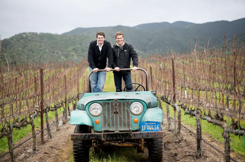 Mark and Jeff Pisoni at Pisoni Vineyards
