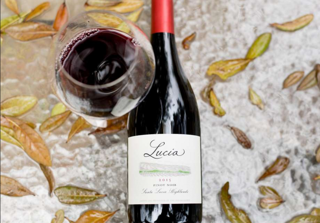 2015 Lucia Santa Lucia Highlands Pinot Noir in the SF Chronicle