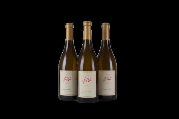 Chardonnay bottle trio