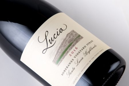 Lucia 2016 Soberanes Vineyard Syrah label