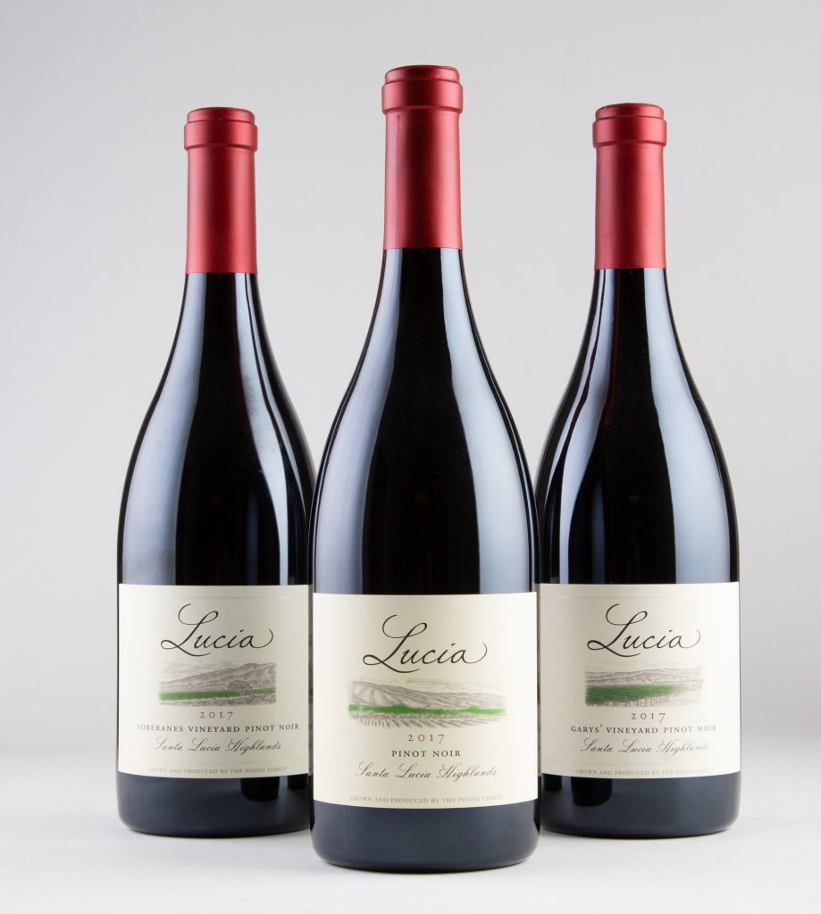 Garys Vineyard, Soberanes and SLH Pinot Noirs