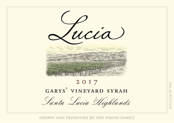 Lucia Syrah Garys Vineyard Face