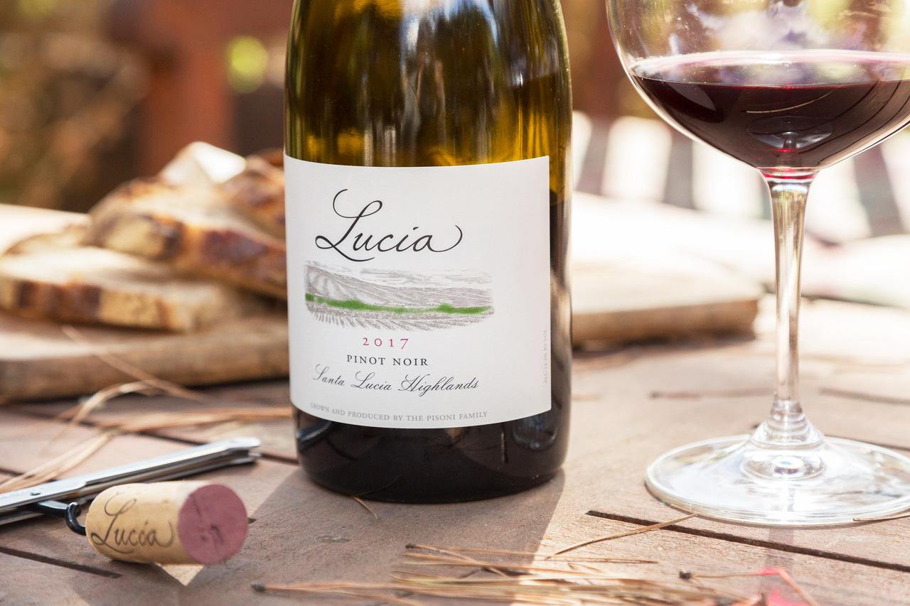 2017 Lucia Pinot Noir Bottle