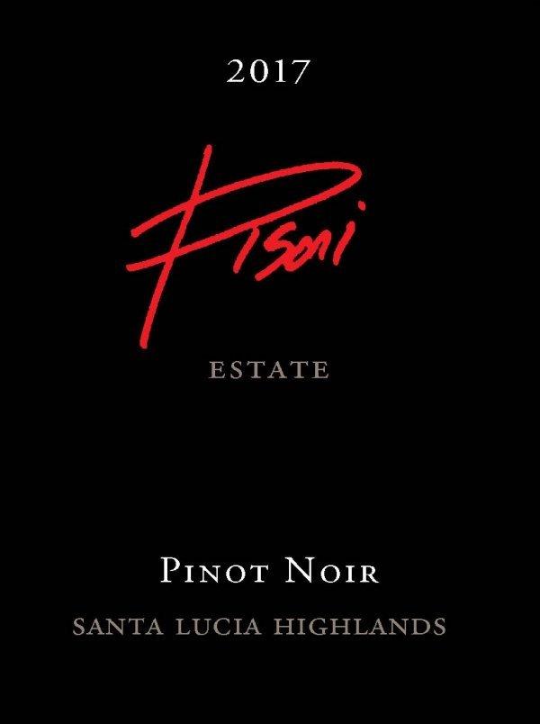 Pisoni Estate 2017 Pinot Noir label