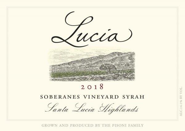 Lucia Syrah Soberanes Vineyard Face