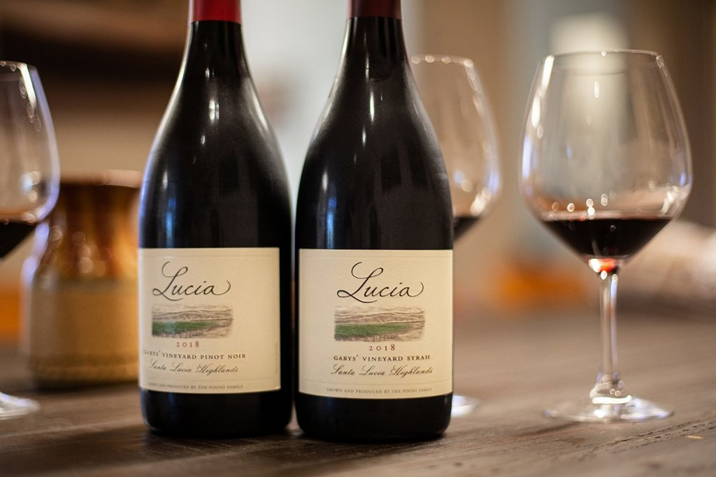 Garys' Vineyard Pinot Noir and Syrah