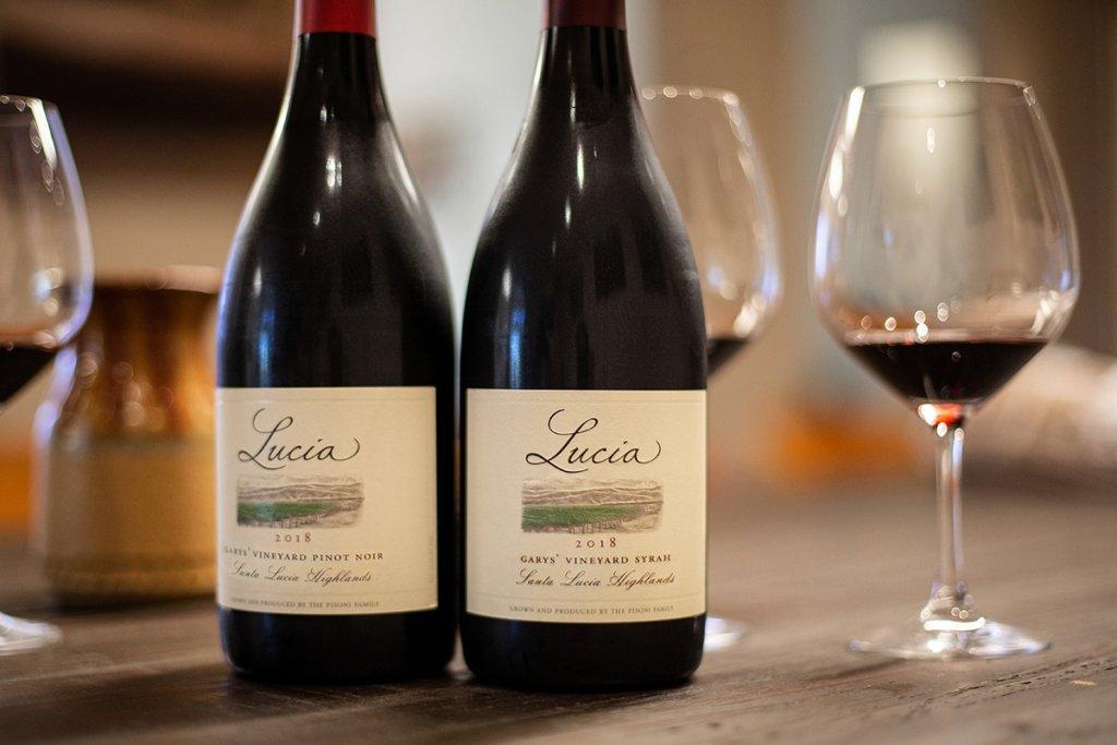 Garys' Vineyard Pinot Noir and Syrah