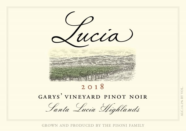 Lucia Pinot Noir Garys Vineyard Face
