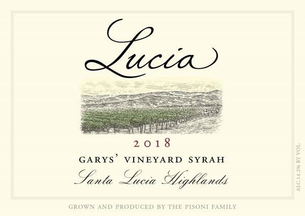 Lucia Garys Vineyard Syrah Santa Lucia Highlands