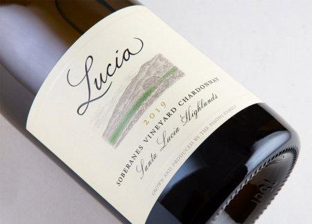 Lucia Chardonnay Soberanes Vineyard Face