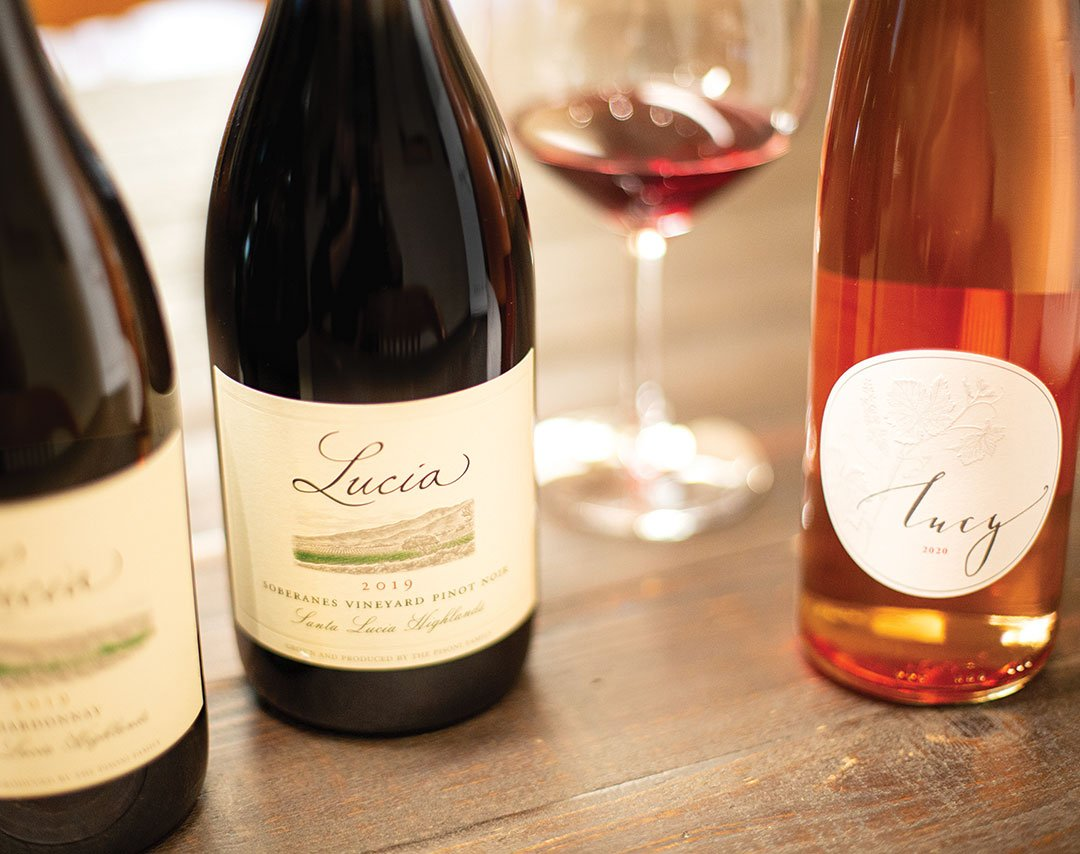 Spring 2021 Release of Lucia. Energy of Place and Wine