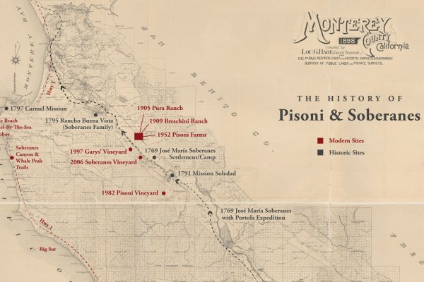The History of Soberanes: Crossing Paths with the Portola Expedition