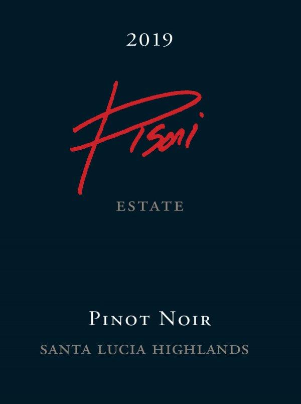 2019 Pisoni Estate Pinot Noir bottle label